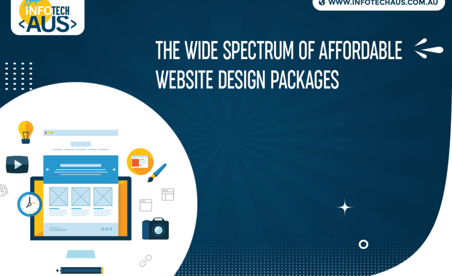 The wide spectrum of affordable website design packages
